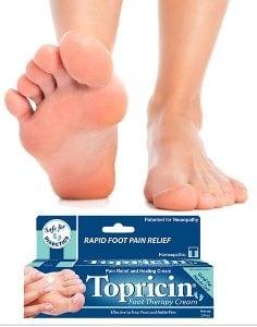 Topricin Foot Cream for Plantar Fasciitis