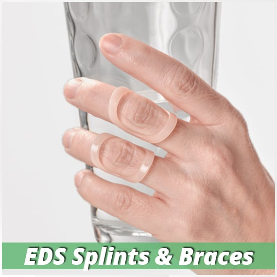 splints and braces for ehlers danlos syndrome or hypermobility