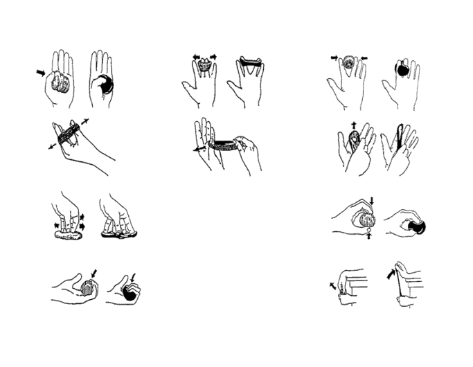 exercises for swelling in hands
