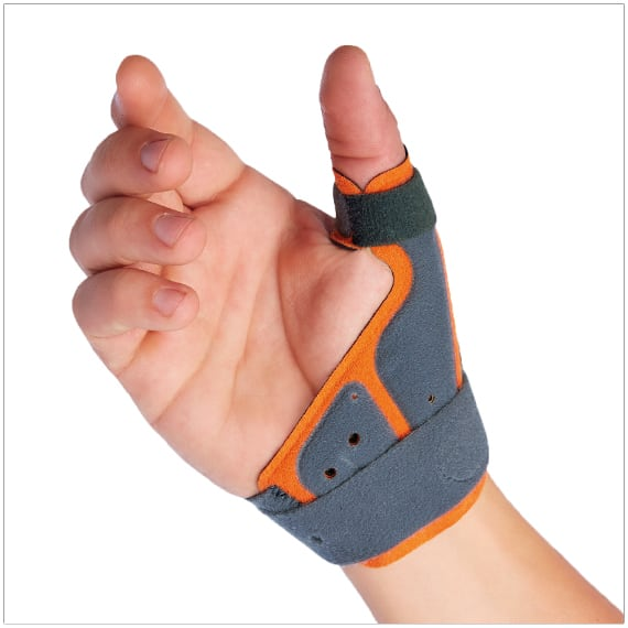 fix comfort thumb brace best brace for arthritis gamekeepers thumb and skiers thumb