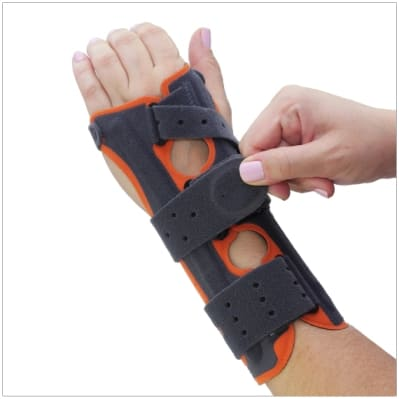 fix comfort wrist brace for carpal tunnel and wrist fractures