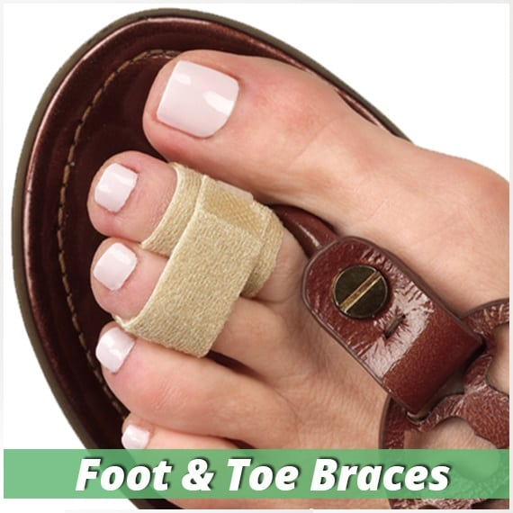 toe splints for broken toes overlapping toes