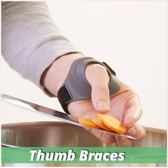 thumb braces for cmc thumb arthritis, gamekeepers thumb and ligament injuries