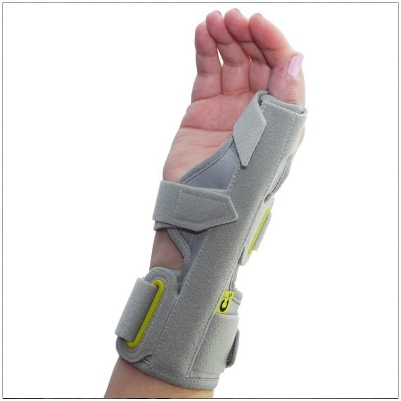 3pp ez fit thumspica splint for de quervains wrist and thumb pain
