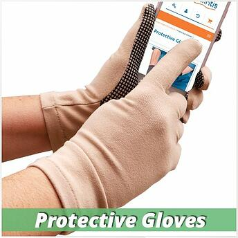 protective compression gloves