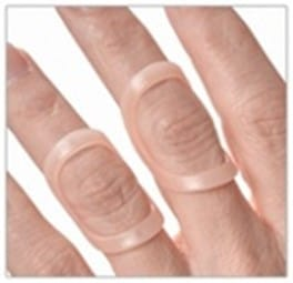 oval-8 finger splint for swan neck deformity